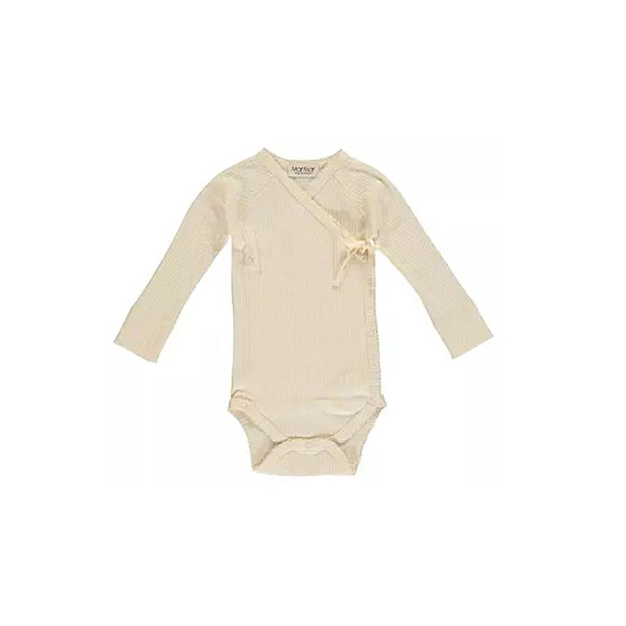 "Langarm-Body ""Mini Offwhite"""