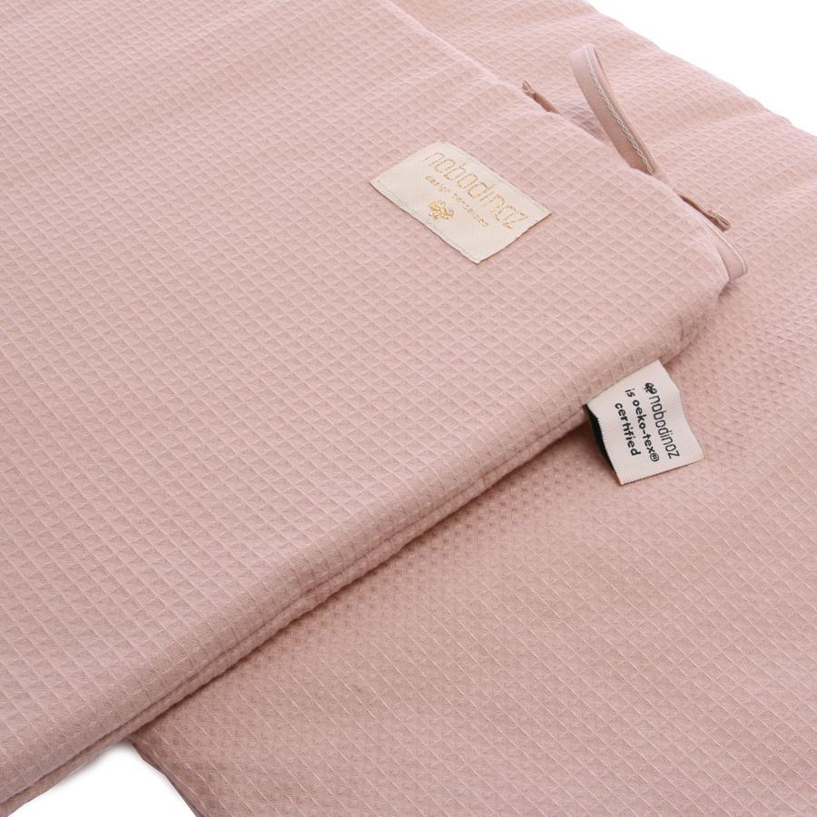 "Bettnestchen ""Nest Honeycomb / Misty Pink"""