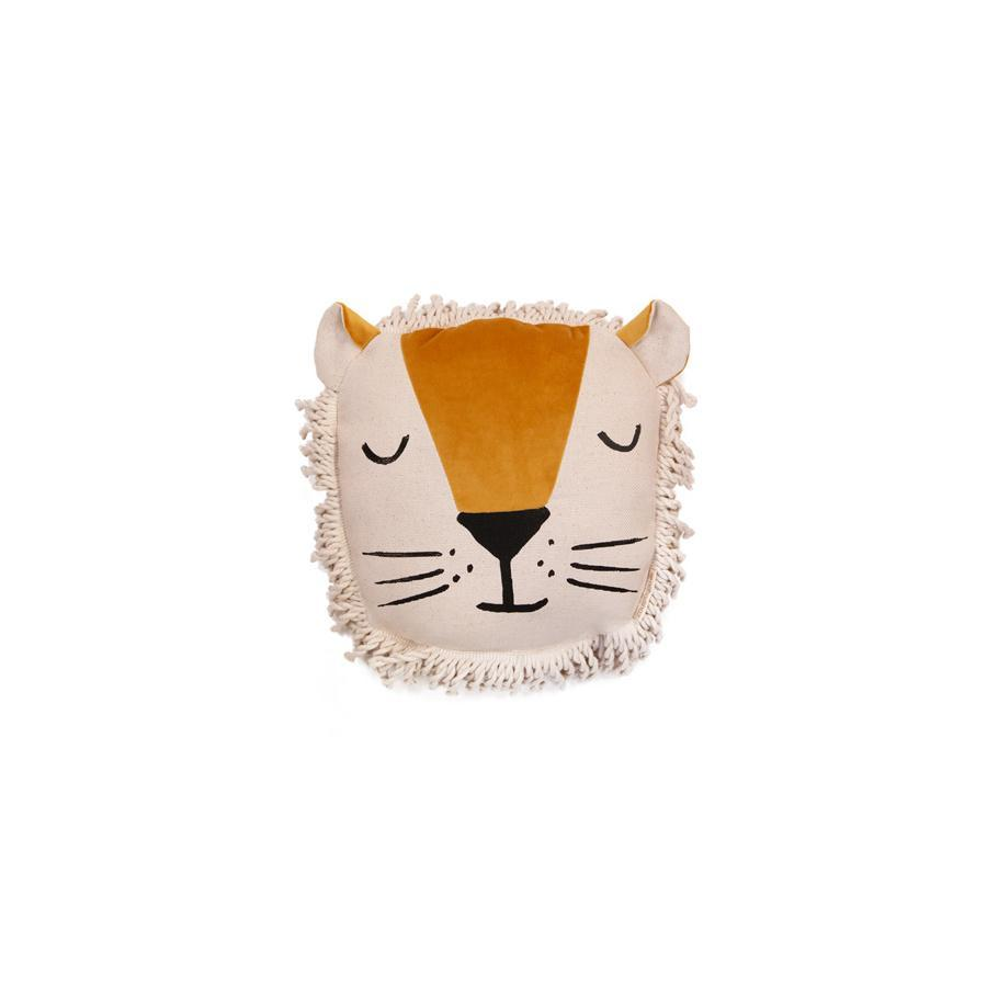 "Kissen ""Savanna Velvet Wild Animals Lion"""