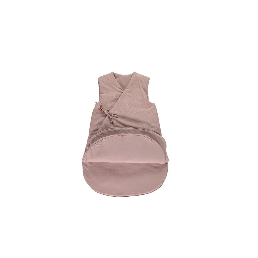 "Babyschlafsack ""Cloud White Bubble / Misty Pink"""