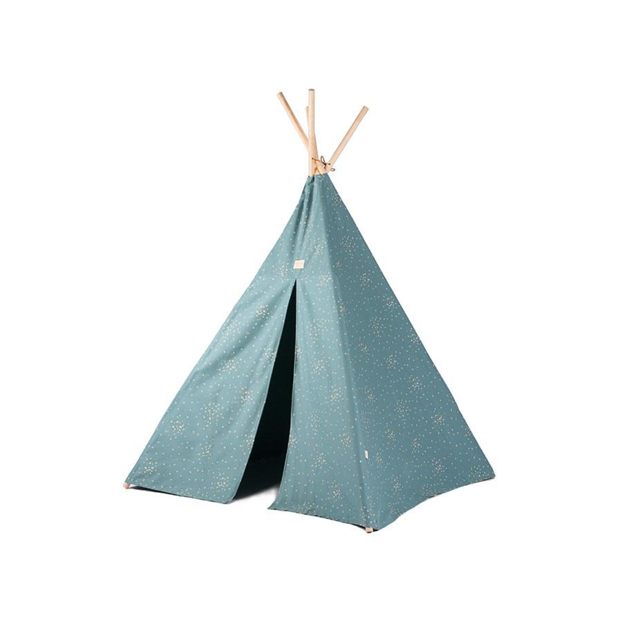 "Tipi ""Phoenix Gold Confetti / Magic Green"""