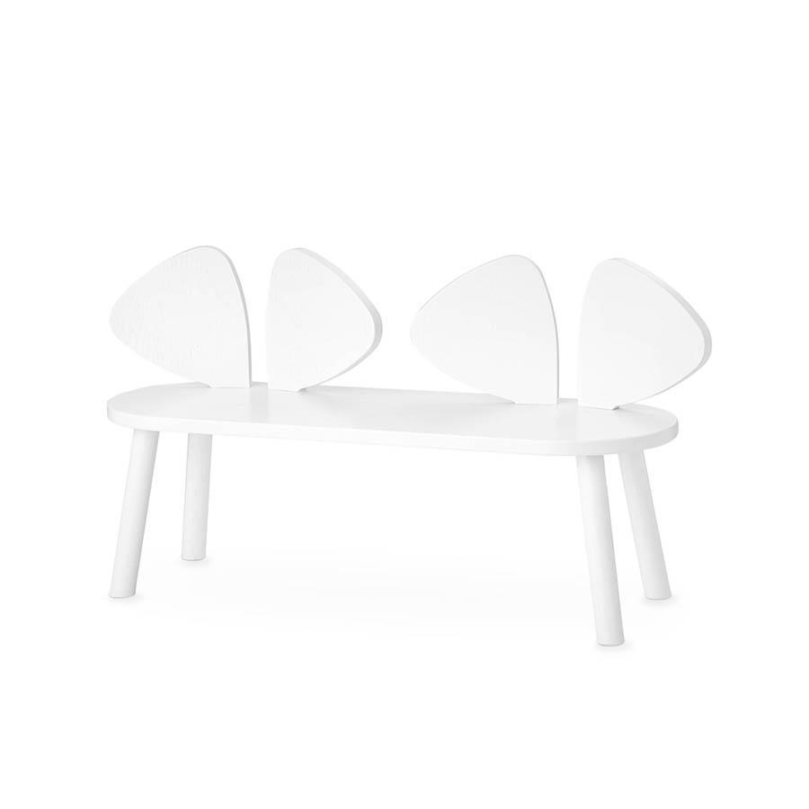 "Kinderbank ""Mouse Bench White"""