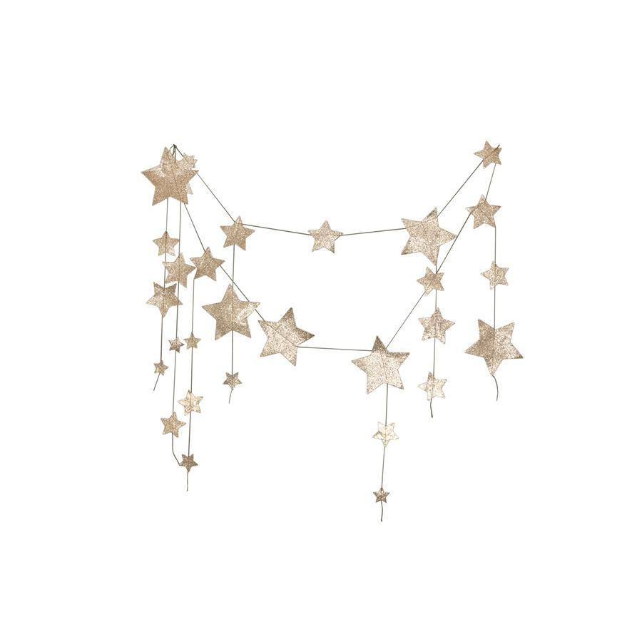 "Girlande ""Falling Star Gold"""