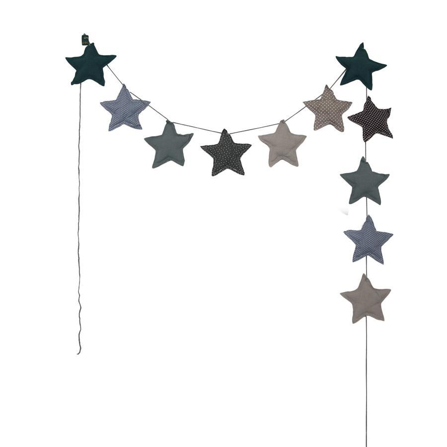 "Girlande ""Mini Star Mix Blue"""
