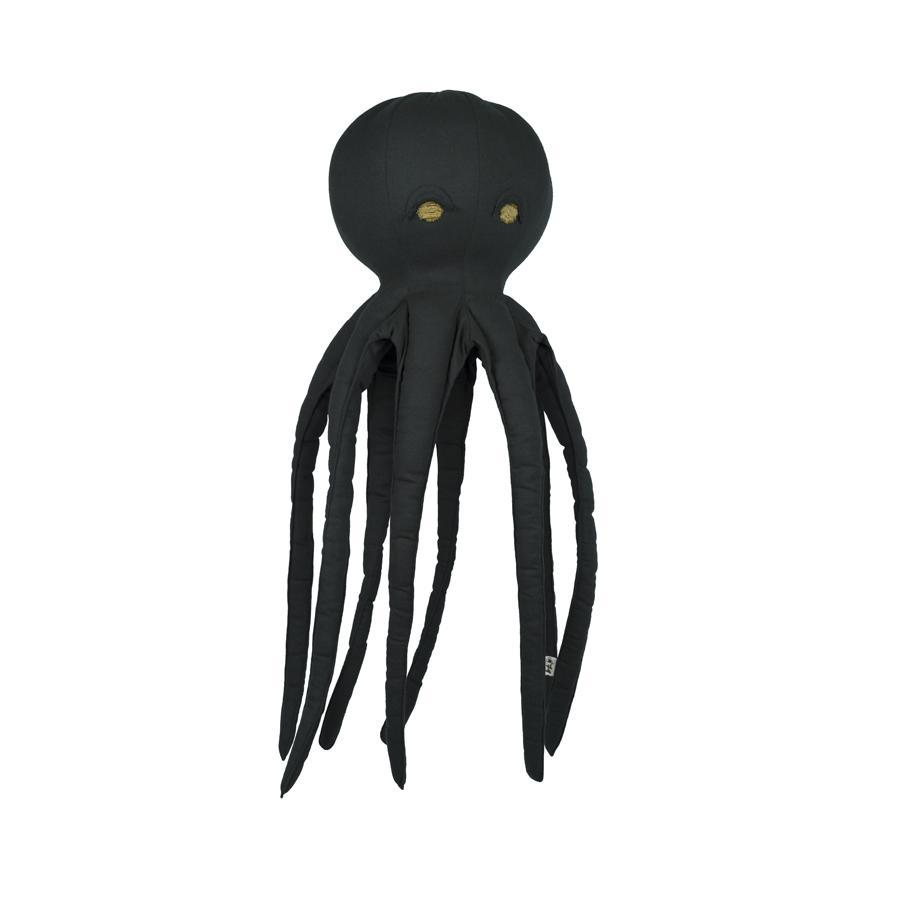 "Kissen ""Freddy Octopus Dark Grey"""