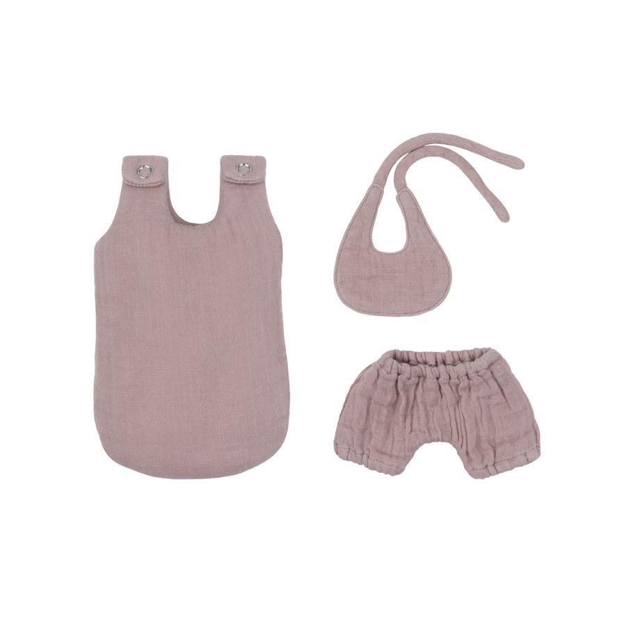 "Puppenkleider-Set ""Dusty Pink"""