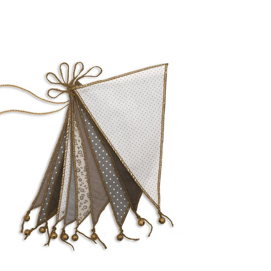 "Wimpelkette ""Bunting Mix Beige"""