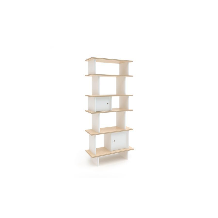 "Mini-Bibliothek ""Vertical White / Birch"""