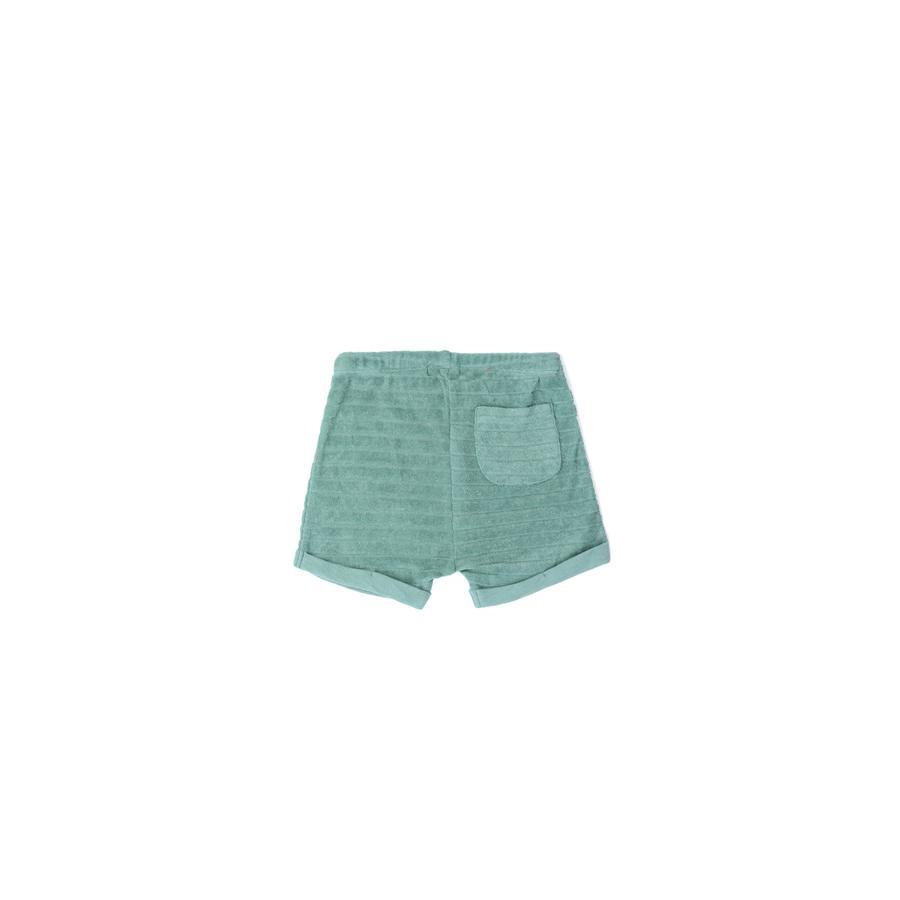 "Sommer-Shorts ""Terry Striped Seaglass"""
