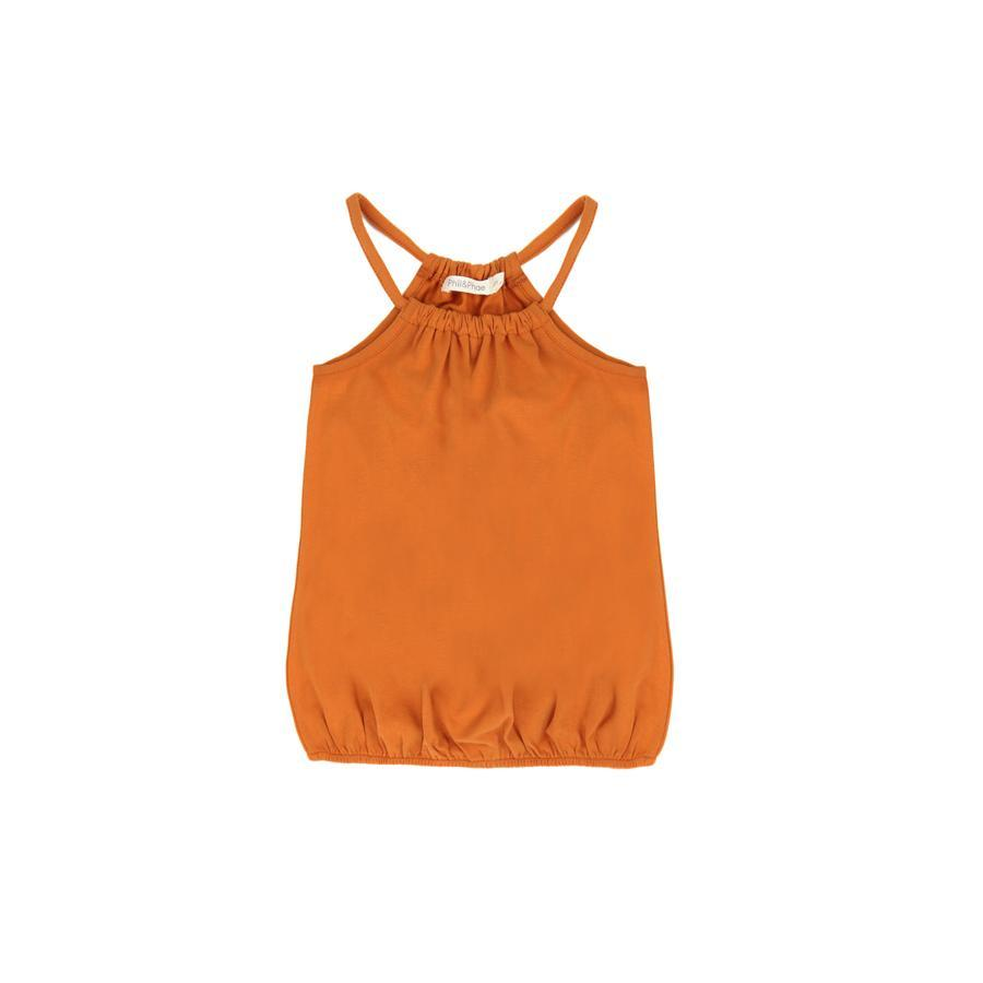 "Sommer Top ""Gathered Tangerine"""