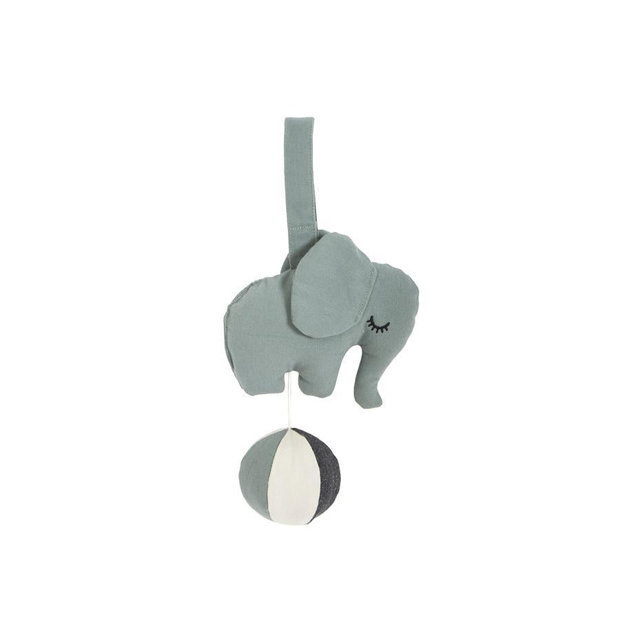 "Mobile ""Elephant Sea Grey"" mit Musik"