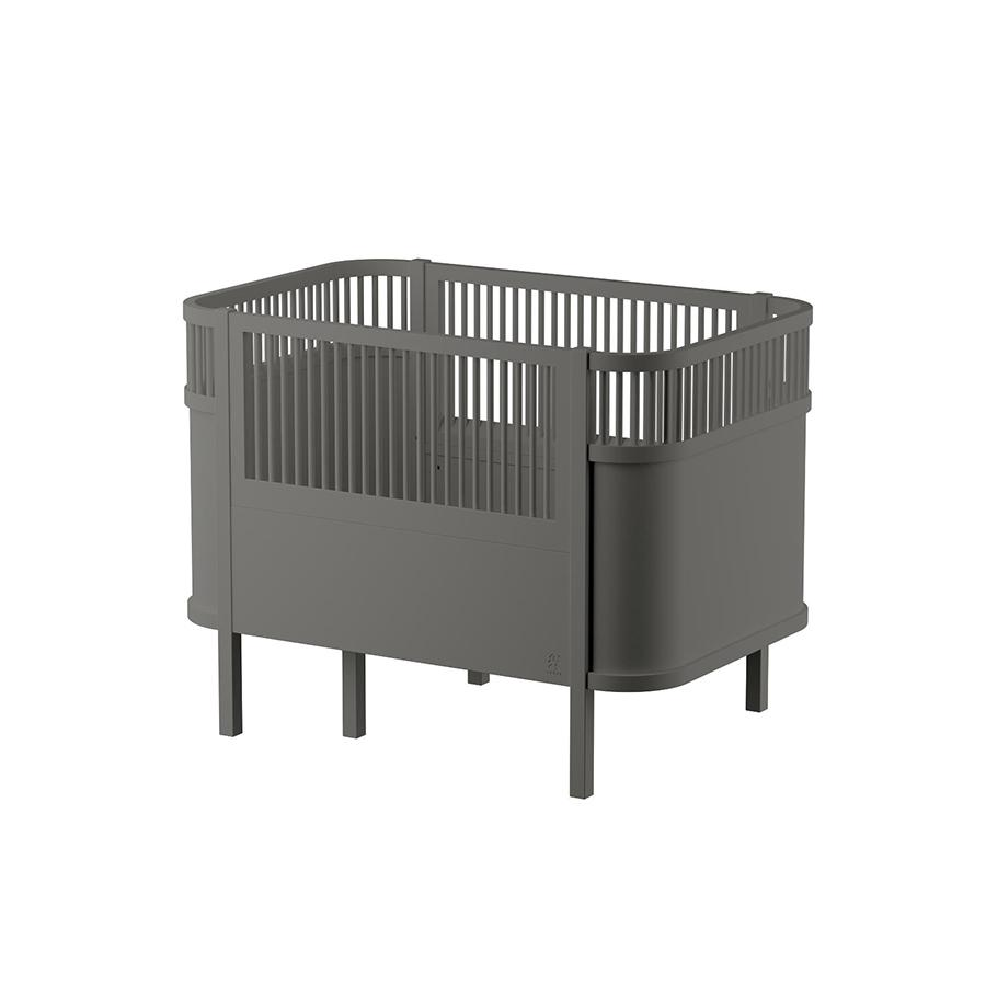 "Ausziehbett ""The Sebra Bed Baby & Junior Classic Grey"""
