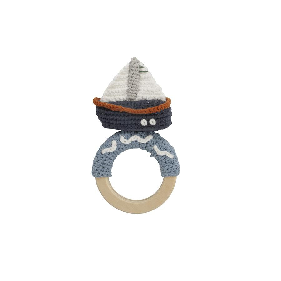 "Babyrassel ""Crochet Boat on Ring"""