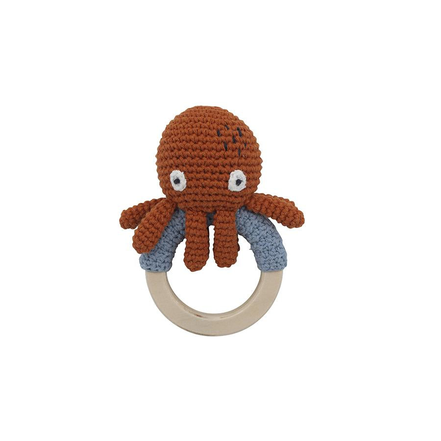 "Babyrassel ""Crochet Morgan the Octopus on Ring"""