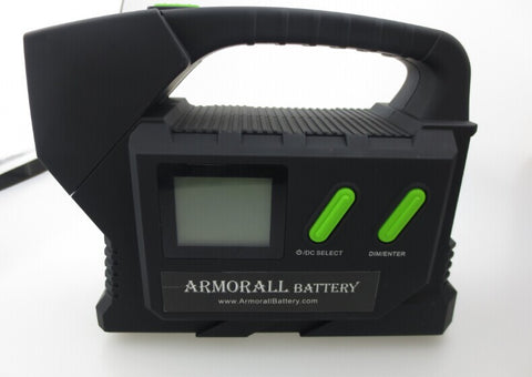 ARMORALL A24, PALM-SIZE 24 VOLT POWER CHARGER, ONLY 24V VEHICLES