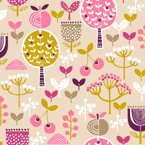 Fabric Collection - Retro Orchard