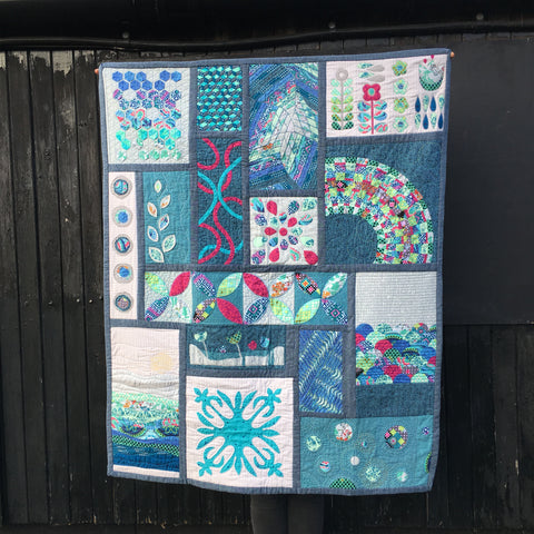 Appliqué Sampler Quilt - Weaving & 3D Appliqué Blocks - Saturday 25th  January 2020