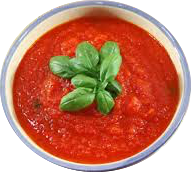 Fresh Italian Tomato and Basil Sauce