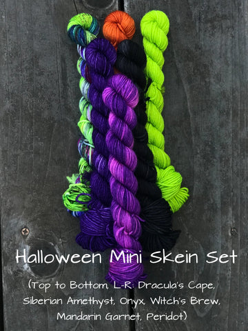 Halloween Mini Skein Kit
