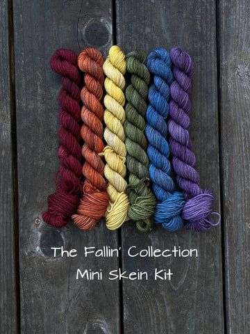 Fallin' Collection Mini Skein Kit
