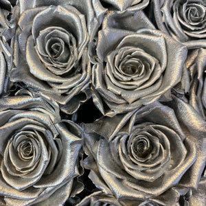 Stunning Silver infinity rose colour | Bling Blooms