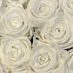 White Purity infinity rose colour | Bling Blooms