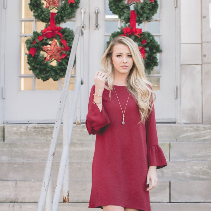 How To Style a Red Dress For Christmas