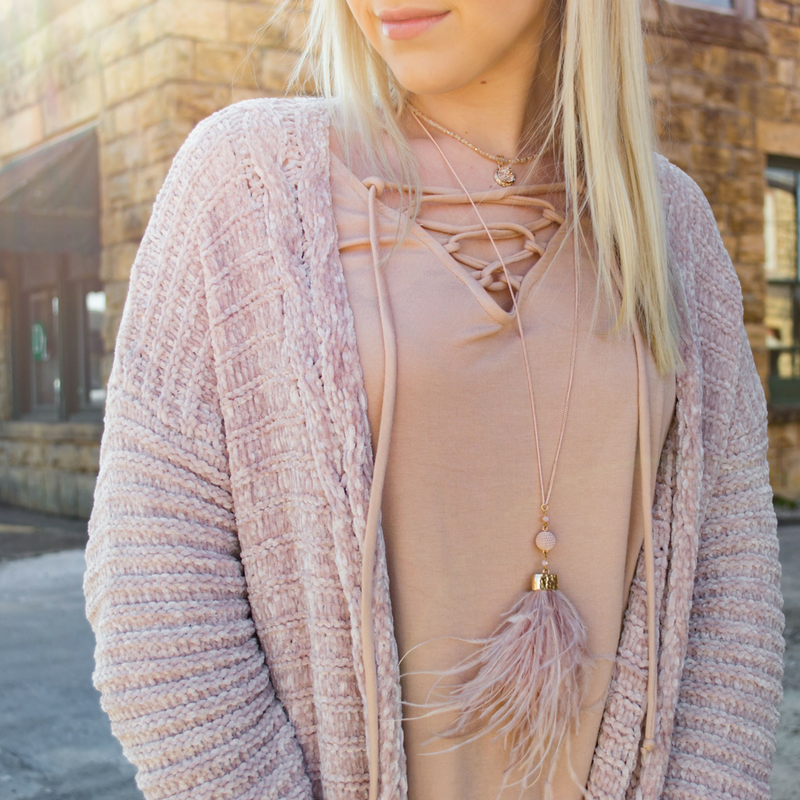 Why You Should Own a Chenille Cardigan