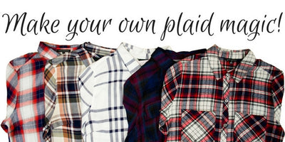 4 Ways To Wear Plaid!