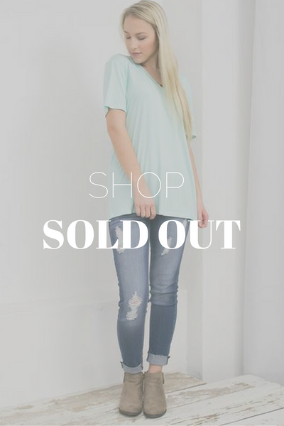 Sold Out Collection of Women's Clothing