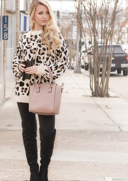 SHOP SILOE FEATURES HOW TO STYLE A LEOPARD IVORY SWEATER