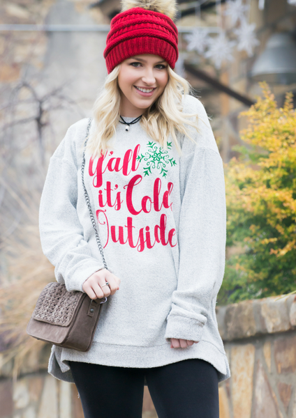 how to style a Christmas sweater