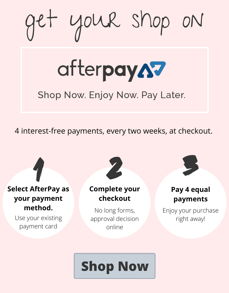 AfterPay How it works steps to sign up
