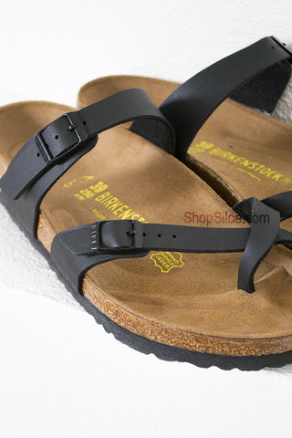 Mayari Birkenstocks | Black| Best Seller - Siloe