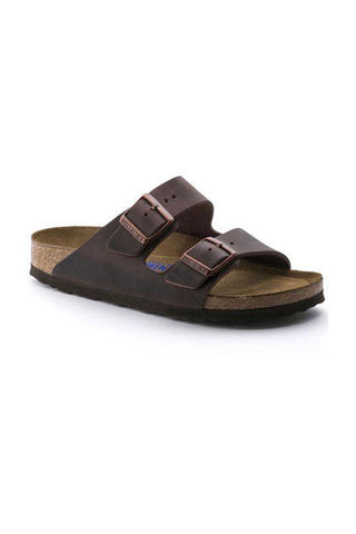 Arizona Oiled Leather Soft Footbed | Habana - Siloe