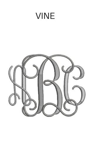 MONOGRAM | Font & Color | Embroidery - Siloe