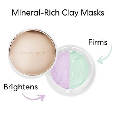 CLAYMATES MASK DUO BE BRIGHT & BE FIRM - Siloe
