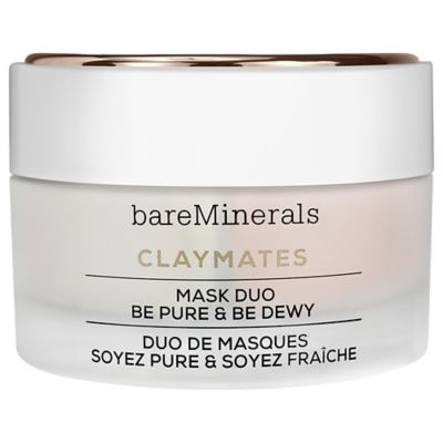CLAYMATES MASK DUO BE PURE & BE DEWY - Siloe