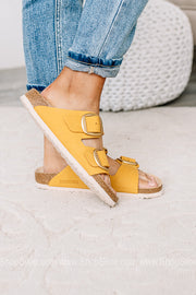 Arizona Big Buckle Birkenstocks | Ochre