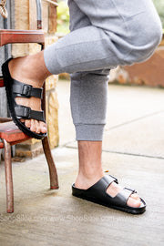 Arizona EVA Birkenstocks | Black | Regular
