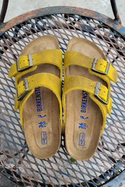 Arizona Soft Footbed Oiled Leather | Ochre