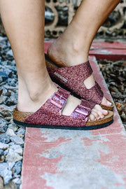 Arizona BS Cosmic Sparkle Port Birkenstocks