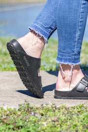 Arizona EVA Birkenstocks | Anthracite | Narrow