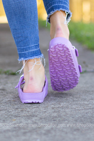 Arizona EVA Birkenstocks | Lavender | Narrow