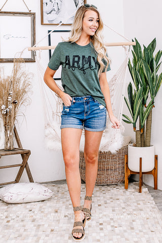 Army Wife Graphic Tee