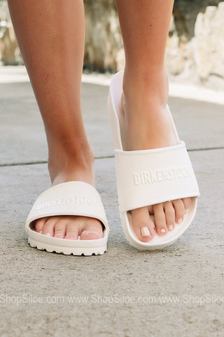 Barbados EVA Waterproof Birkenstocks | White | Regular