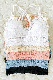 Darling Daisies Lace Bralettes | Colors