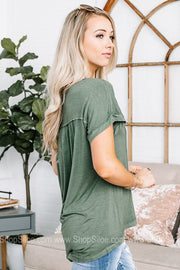 Dear John Palma Fern Knit Top