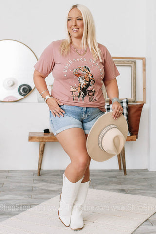 Hold Your Horses Graphic Tee