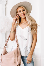 Just Left The Island Cami | Ivory